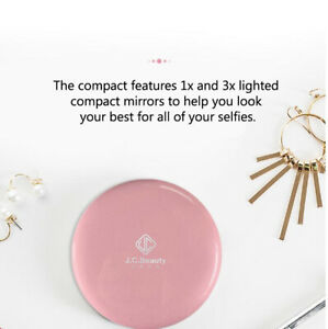 Led Lights Cosmetic Makeup Mirror White Powerbank 5000 Mah
