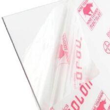 Makrolon Tuffak Polycarbonate Clear Plastic Sheet 18 X 4 X 4