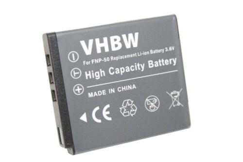 Original VHBW ® batería para Fuji FinePix f60 f60fd f70 f70exr