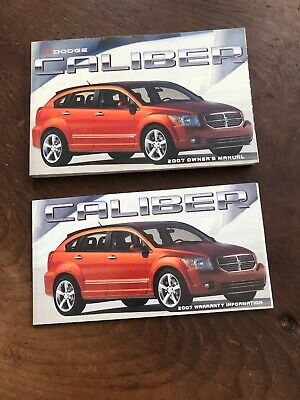 2007 dodge caliber manual book