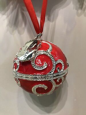 pandora 2017 black friday christmas spectacular rockettes ornament nib