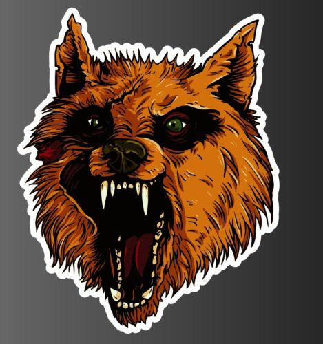 Wolf 1-4 sticker vinyl decal