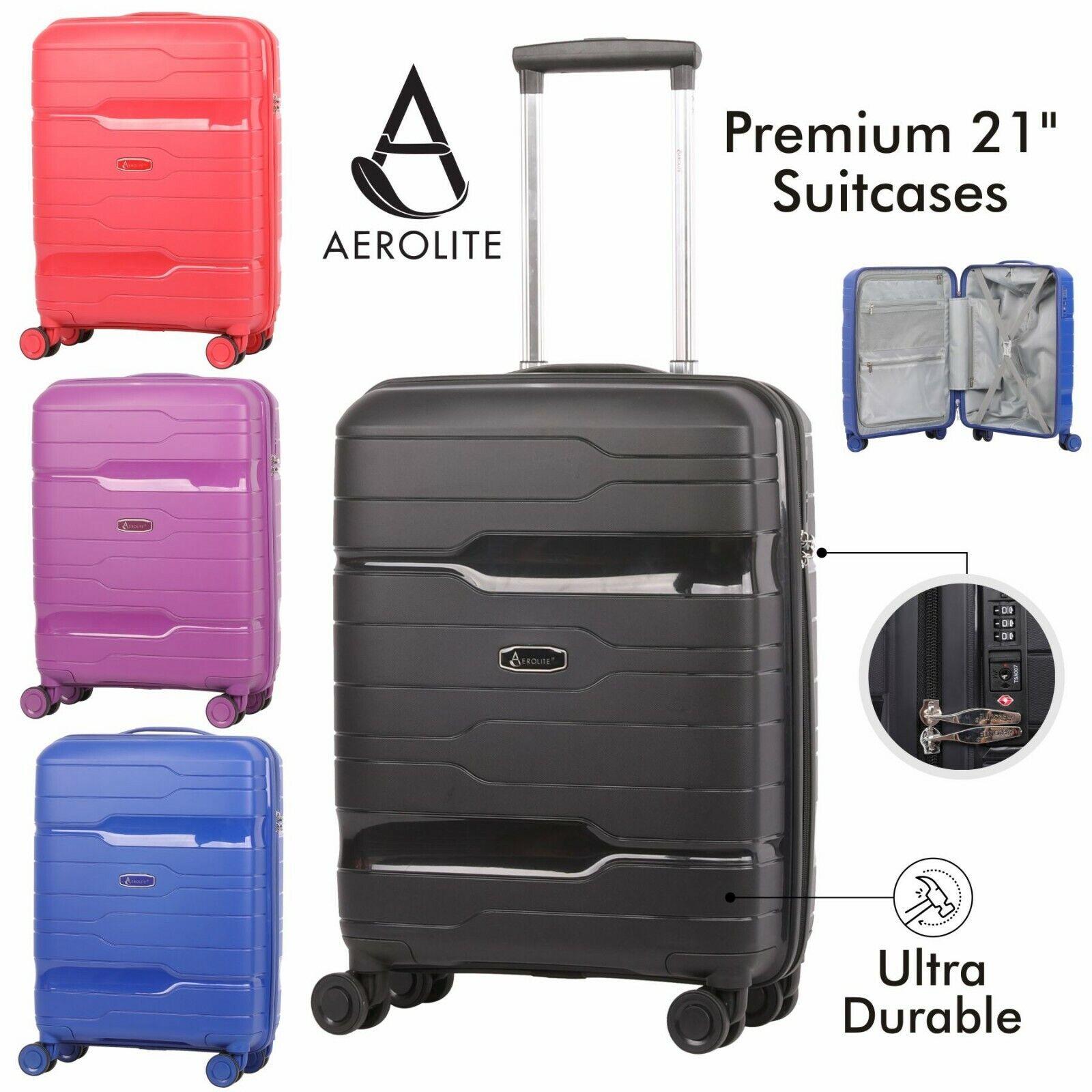 Aerolite 53.3cm Ultra Assicurare Guscio Rigido Bagaglio a Mano Mano Mano Carry On Tsa  garanzia di qualità