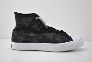 9a239e81c97296 Mens Converse Jack Purcell Signature High Top Shoes Size 12 Black ...