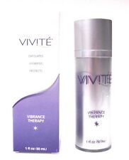 Vivite Vibrance Therapy Face Serum 1 oz 30 ml Exfoliates Hydrates Protects