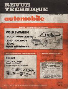 Original Rta Revue Technique Automobile N° 425 Volkswagen Polo