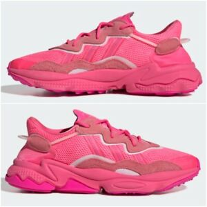 Détails sur Nouveau Adidas Ozweego Unisexe Baskets Rose Fuchsia édition  Limitée Chaussures Toutes Les Tailles- afficher le titre d'origine