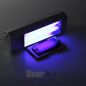 110v uv light ultraviolet lamp loca bake glue refurbish lcd front. Black Bedroom Furniture Sets. Home Design Ideas