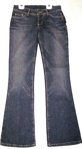 Volcom Girl's Denim Pants - Size 3 - bluee - Brand New