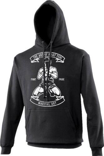 Fighter The Art of Muay Thai UFC MMA Martial Arts Adult /& Kids Hoodie