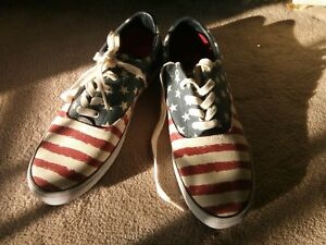 Tommy Hilfiger shoes size 12 Men Red White Blue NEW Women Boys Offer ... ed04b4855