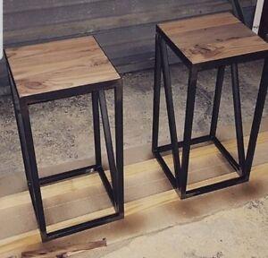 Sgabello Ferro Industriale.Dettagli Su Sgabello Seduta In Ferro E Legno Design Industriale Moderno