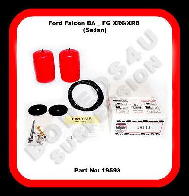 POLYAIR AIR BAG SUSPENSION KIT SUITS (FALCON BA-FG XR6/8 SEDAN) P# 19593