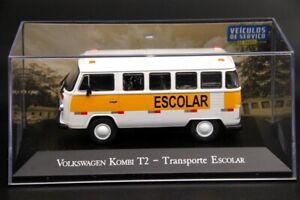 ALTAYA-1-43-V-W-Kombi-T2-con-transporte-escolar-Diecast-Modelo-Coche-Navidad-IXO-Toys