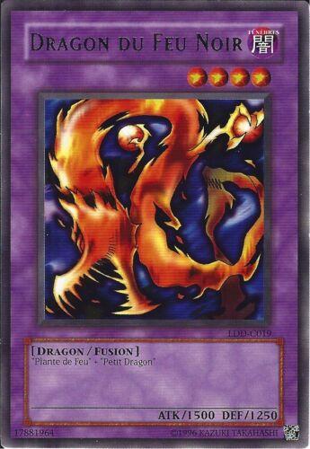 LDD-C015 VF//RARE ♦Yu-Gi-Oh!♦ Dragon du Feu Noir//Darkfire