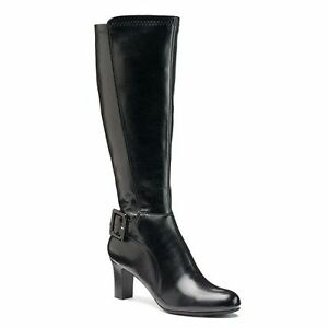 Womens CROFT & BARROW Wide Calf Tall Dress Boots Knee High ...