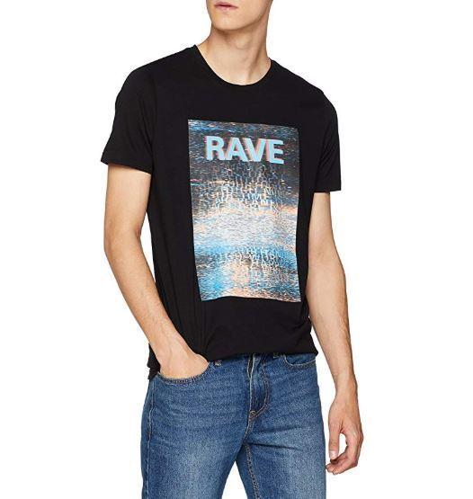 NWT HUGO Mens Cotton Graphic T-Shirt (M)