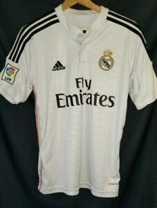 Adidas Soccer Jersey FLY EMIRATES #10 JAMES Men's Size Small | eBay
