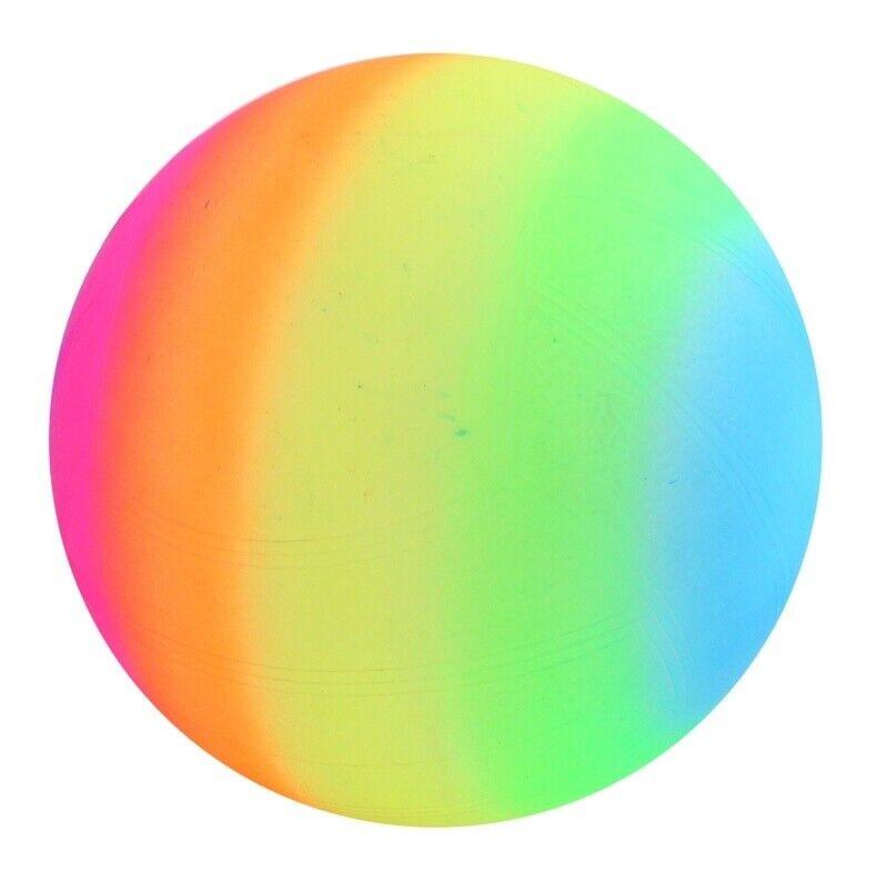 160 Stück Regenbogen Bälle Plastik Kinder Tombola Wurfmaterial 120 40 80