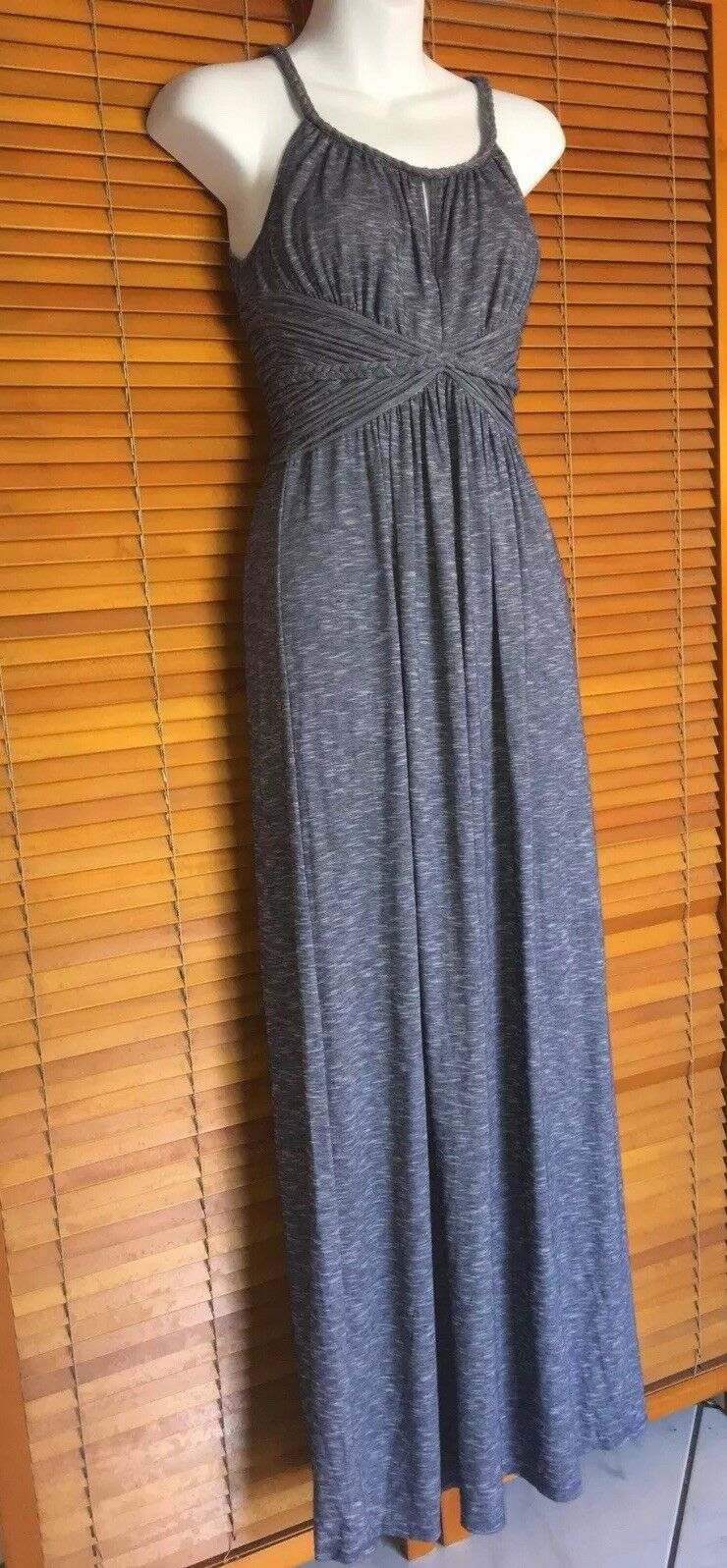 Max Studio Grey Maxi Dress - Small