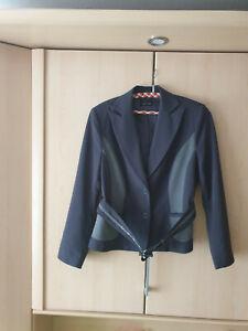Jacke Blazer Jacket Gr. 40 grau hellgrau