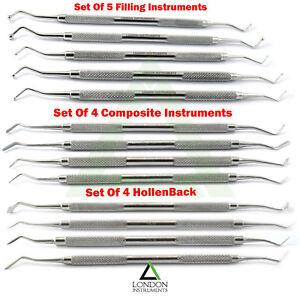 Procedure-Instruments-Ball-Burnishers-Dentist-Dental-Amalgam-Filling-Restoration