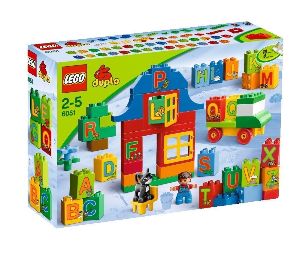 LEGO Duplo Buchstaben-Lernspiel (6051) NEU OVP