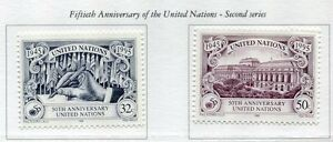 19269-UNITED-NATIONS-New-York-1995-MNH-50th-of-UNO