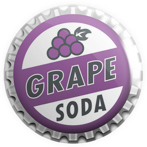 1 Grape Soda Bottle Cap Pin Inspired by Up