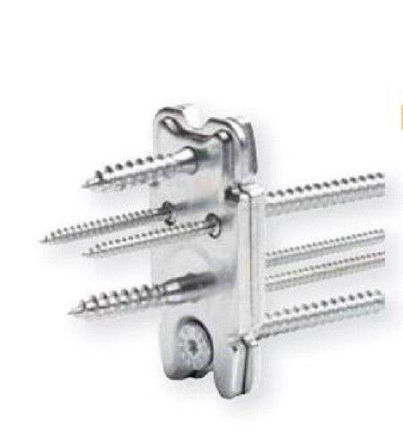 8 Sets Knapp RICON Holzverbinder 80 40 EA, komplett mit Schrauben, Verbinder