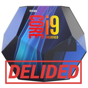 Intel Core i9-9900K 5.00GHz processore delided-Boxed