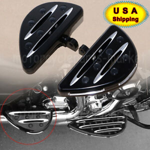 Rear-Passenger-Floorboards-Floor-Boards-Foot-Pegs-For-Harley-Electra-Glide-Dyna