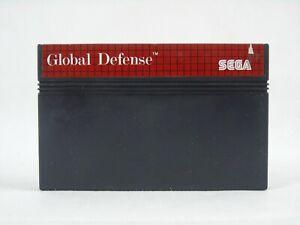 Global Defense Sega Master System Cartridge