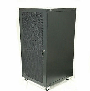 18U-Wall-Mount-Network-Server-Cabinet-Rack-Enclosure-Door-Lock-600mm-Deep