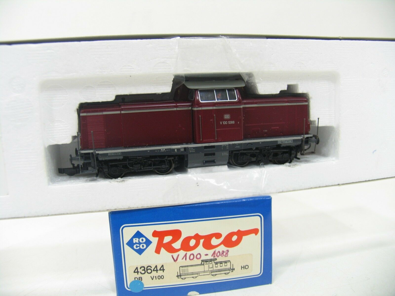ROCO 43644 DIESEL V 100 1064 rosso della DB wm156