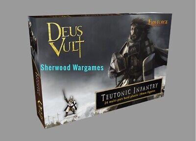 Saga Crusades 28mm Templar Infantry Medieval Fireforge Games BNIB Deus Vult