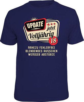 18 Anni-update-t-shirt Misure S-m-l-xl - Xxl-fun Proverbi Shirt-