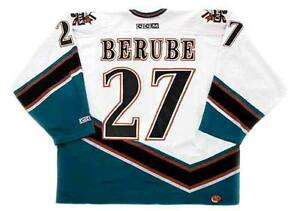 official photos b95ce a76ec Details about CRAIG BERUBE Washington Capitals 1998 CCM Vintage Home NHL  Hockey Jersey