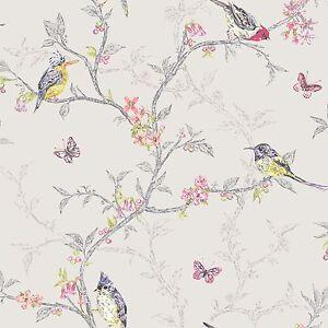 Phoebe-Oiseaux-Papier-Peint-Holden-Decor-Gris-Colombe-98081-Piece