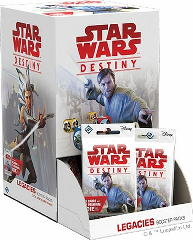 1x  Legacies    Booster Box New Sealed Product - Star Wars Destiny 92d505