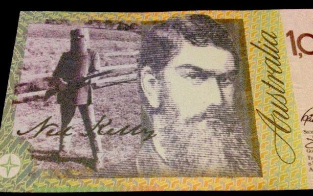 2 Australia 1 Million Dollar Banknote Ft Ned Kelly Sydney Bridge Novelty Money