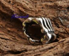 Haar- & Bartperle  Knochenhand 925 Silber