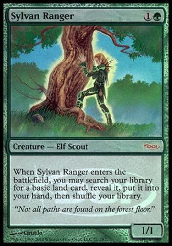 MTG Sylvan Ranger DCI Foil Never Played