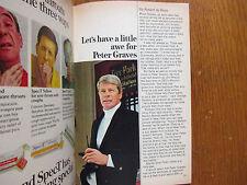Feb-1969 TV Guide(PETER GRAVES/MISSION:IMPOSSIBLE/STELLA STEVENS/RICHARD DEACON
