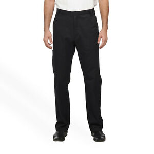 Craftsman-Men-039-s-Twill-Pants-with-Teflon-fabric-protector-44X30-Navy-NEW