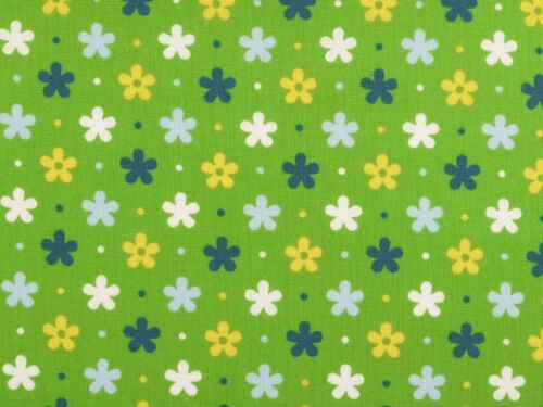 4 colours cute flowers 100/% Cotton fabric for children