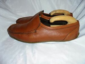 Size On Loafer Chatham Leather Eu Slip Shoes 10 Men's Vgc 44 Brown Uk IXqw0ZwOH