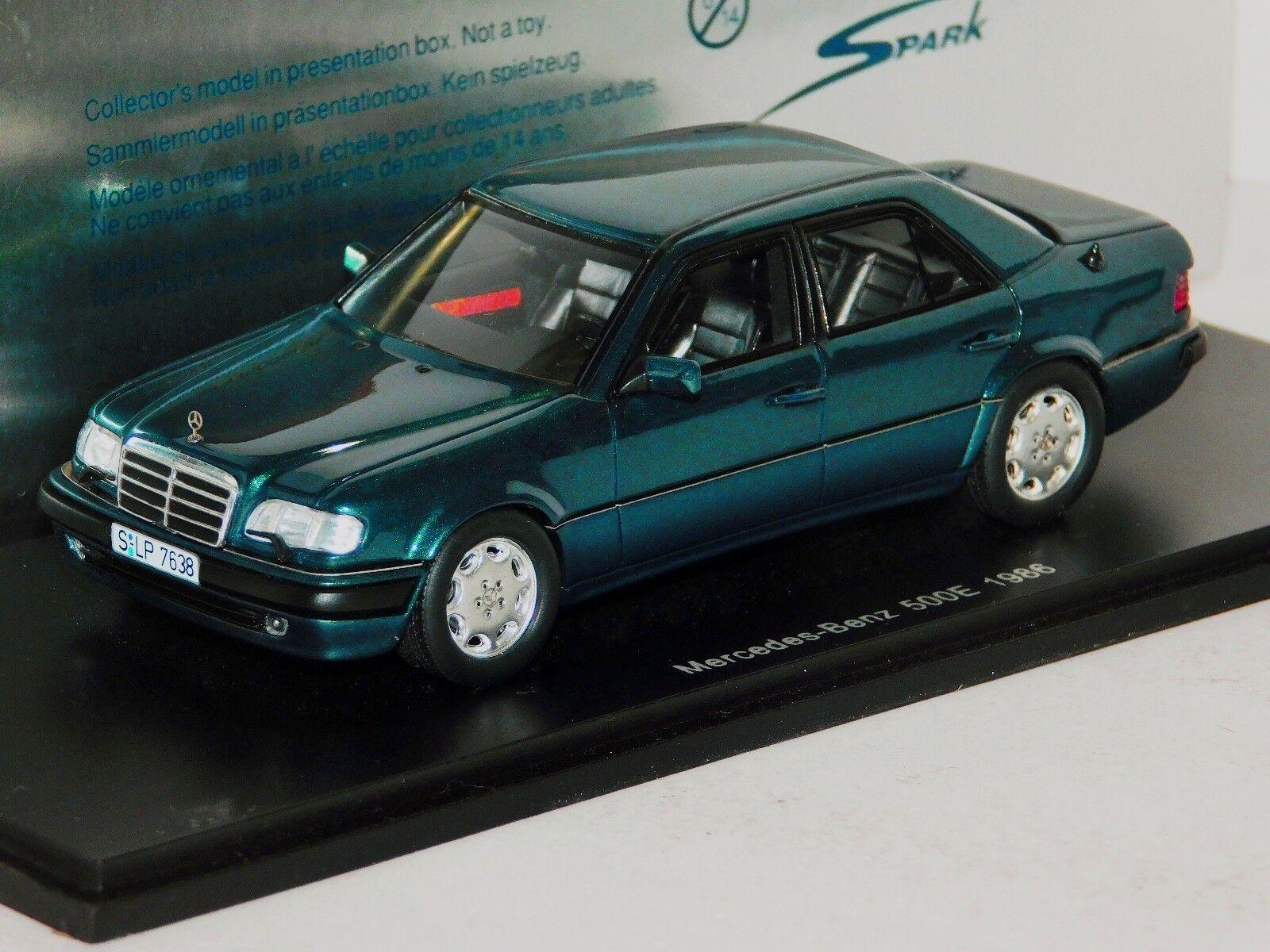 MERCEDES BENZ 500E 1986 SPARK S1020 1 43