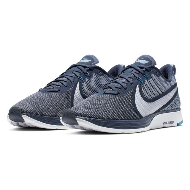 Mens Nike Zoom Strike 2 Trainers Shoes Blue White AO1912 403 UK 12 EU 47.5