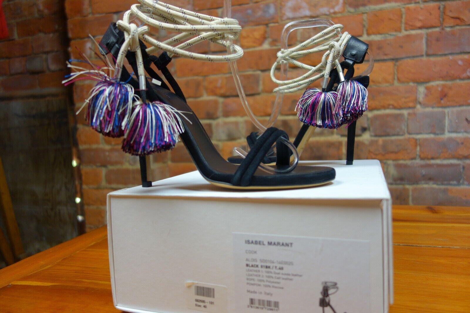 ISABEL MARANT 'Cook' Ankle-Tie Sandals. NEW   UNWORN. Original box. Cost